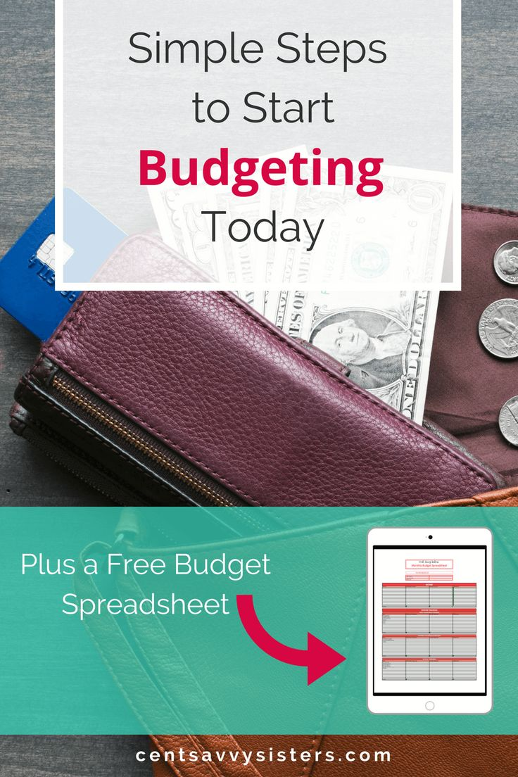 Start a Monthly Budget Even if You Suck at Budgeting. If you want to get out of debt and start saving you need to start a budget today. Find out how by reading this article!