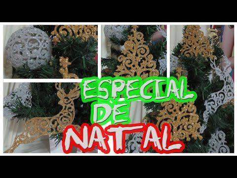 Coisas que Gosto: DIY NATAL   DECORAÇÃO DE NATAL USANDO COLA QUENTE ...