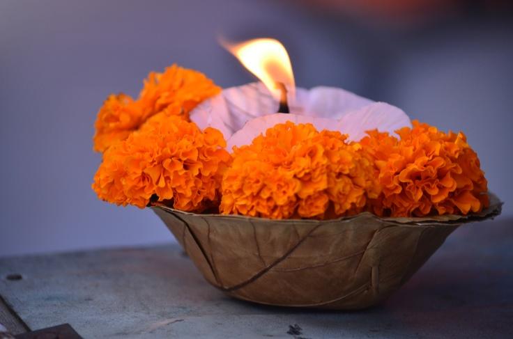 Candle / Light / India / Varanasi / Ganges
