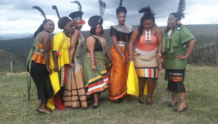 Bhaca inspired mordern regalia by Nyamie at Rafkhat Creations