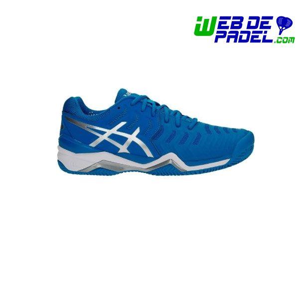 tenis asics gel resolution 7 azul 2019