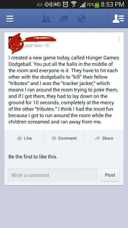 Hunger Games Dodgeball