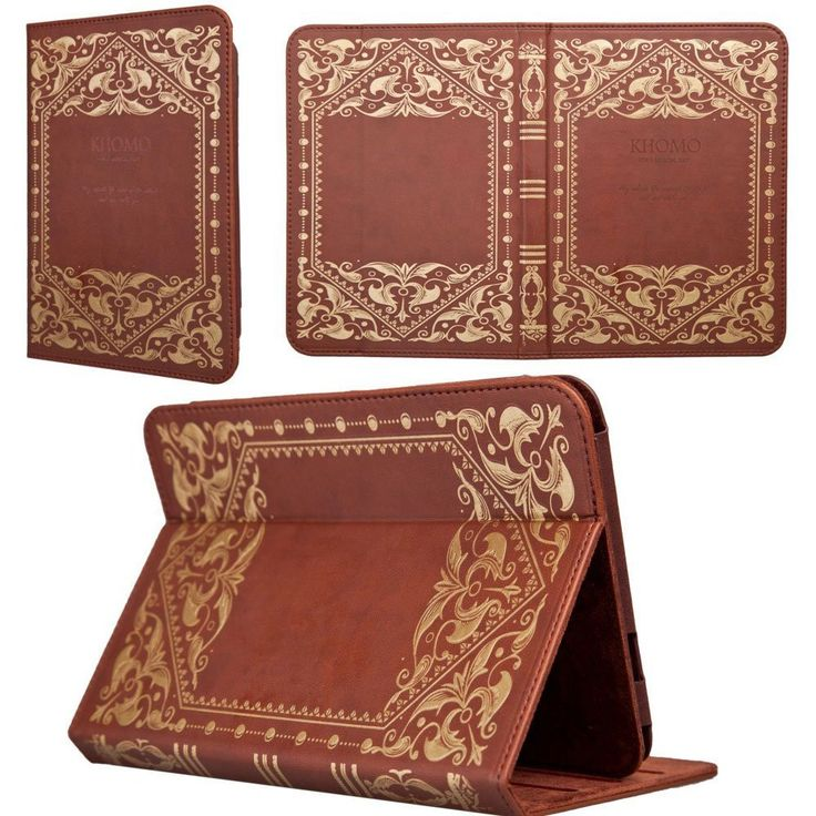 Book Style Case for Amazon Kindle Fire HD 8.9 - Brown