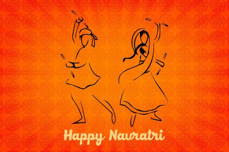 Happy Navratri! on Behance