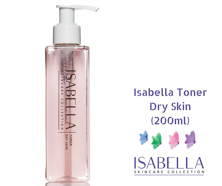 Isabella Toner - Dry Skin (200ml) £22.00 Alcohol-free toner applied after cleansing.  This Hydrating toning lotion is the next step in the cleansing process and helps maximize the benefits of your serum-facial oil and moisturiser. ‪#‎skincare‬ ‪#‎isabella‬ ‪#‎cleansingoil‬ ‪#‎daycream‬ ‪#‎nightcream‬ ‪#‎dryskin‬ www.crystalsprings.co.uk/online-bou…/isabella-toner-dry-skin