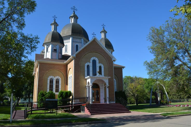 Sts Peter & Paul Ukrainian Catholic Church Canora 1964