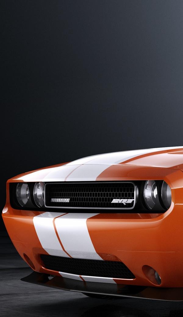 Dodge Challenger 392 Hemi by Jarosław Cimoch, via Behance