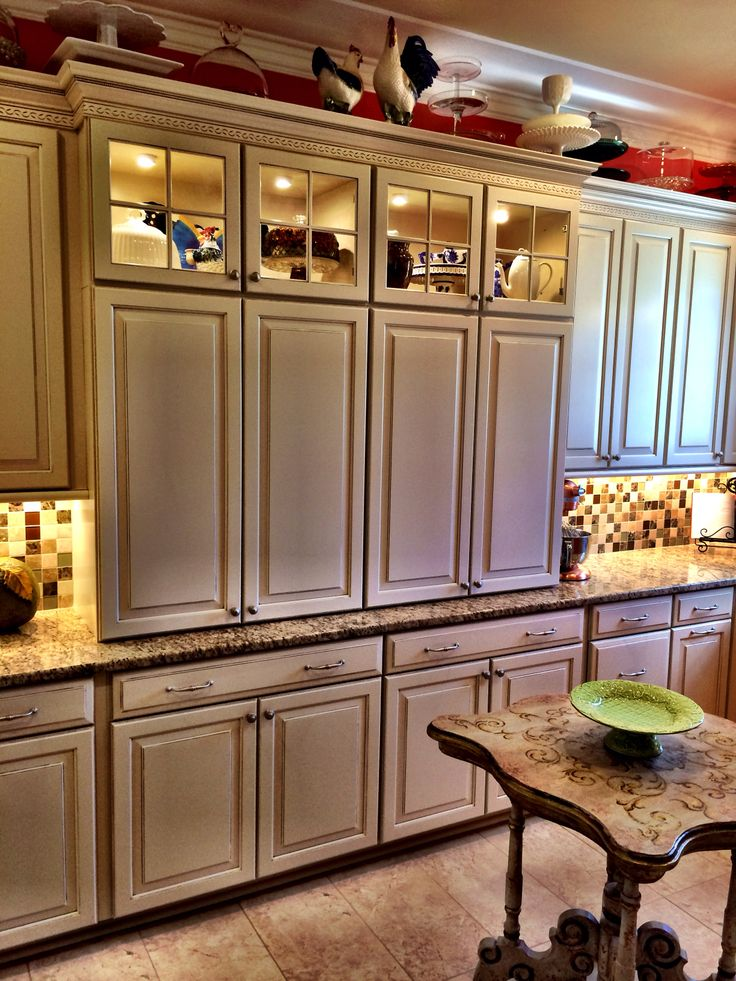 Cabinets In Pantry And Built In China Cabinets Designed By