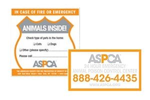 Disaster Preparedness | ASPCA. Order your FREE kit to keep your pets as safe as possible and alert emergency/rescue workers to their presence.