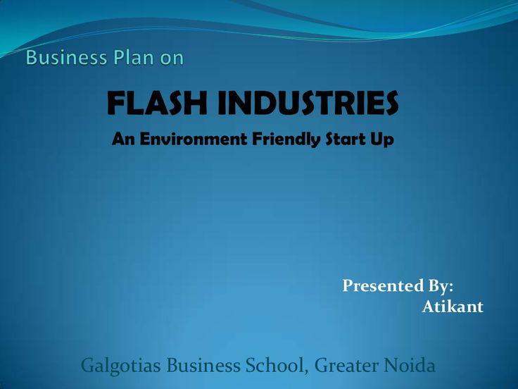 business-plan-on-fly-ash-bricks by Atikant Kashyap via Slideshare