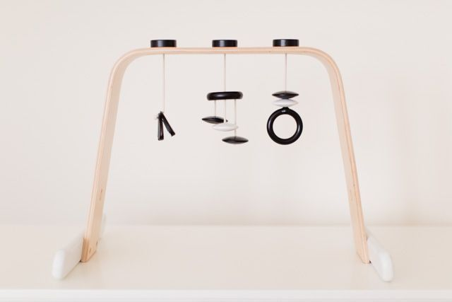 Photo pour customiser et personnaliser un portique Customiser un portique Ikea Play Gym
