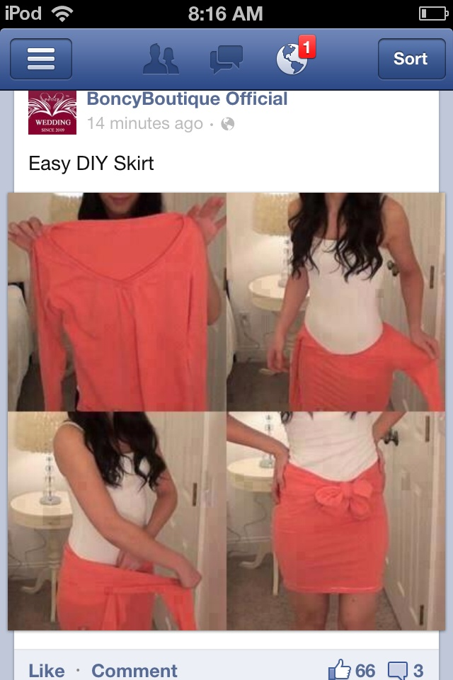 DIY skirt - Done This =)