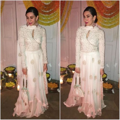 Karisma Kapoor in House of Kotwara for Diwali 2016