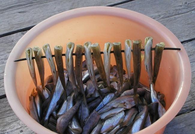 Копченая рыба без коптильни / Полевая кухня / Выживание в Экстремальных Условиях - НеПропаду