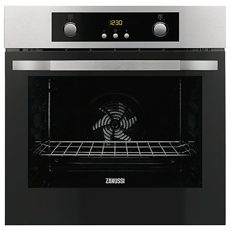 Buy Zanussi ZOB35302XE Built-In Single Electric Multifunction Oven, Stainless Steel Online at johnlewis.com
