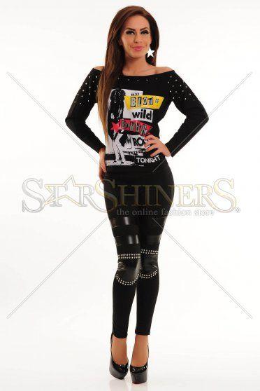 Bluza Mexton Charmy Girl Black
