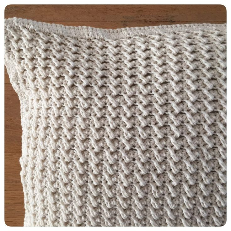 Haak je mee?: Cotton Cushion. Free (Dutch) pattern