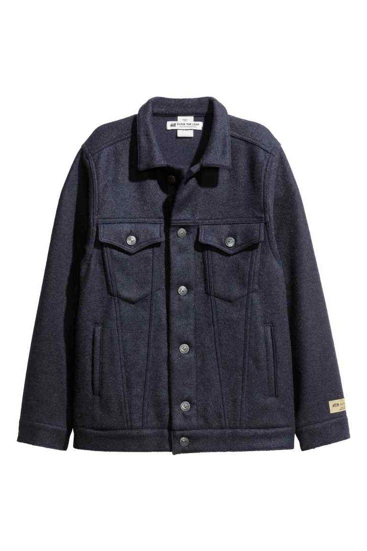 Wool-blend jacket   H&M