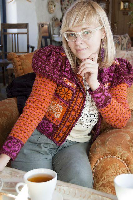 Estonian knitting pattern