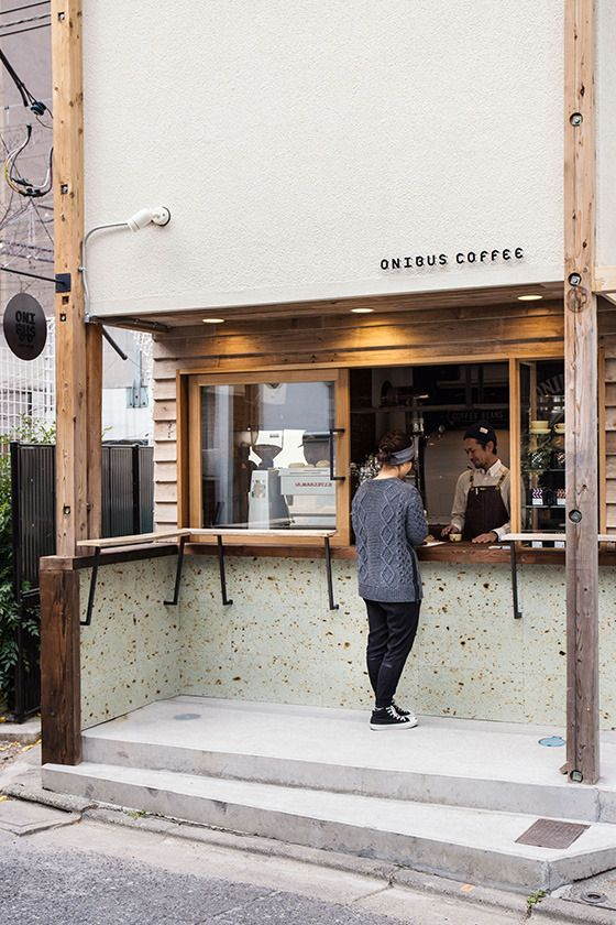 ラボ窓イメージ お店とかにもできたらな Onibus Coffee, Tokyo.