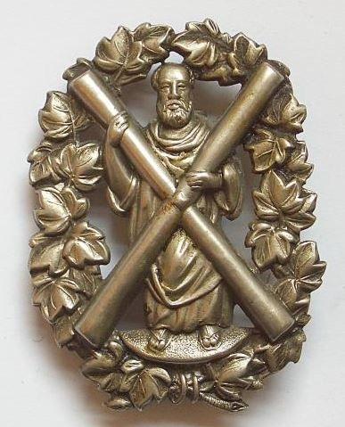 Royal Aberdeenshire Highlanders Militia Victorian OR's glengarry badge circa 1874-81.
