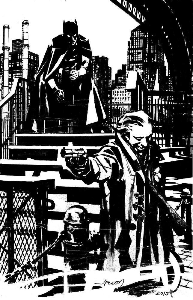 Batman and The Joker by John Paul Leon *
