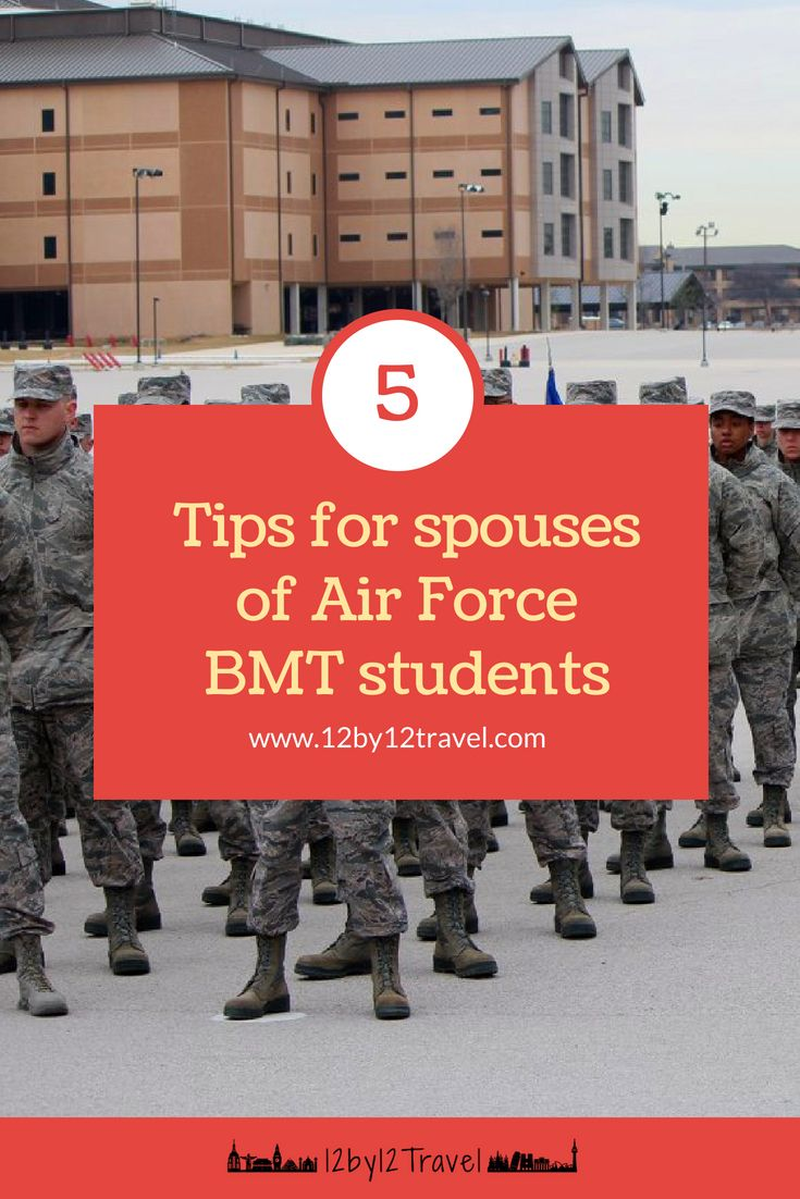 Surviving Air Force Bmt From Home 12by12 Travel Blog Travel