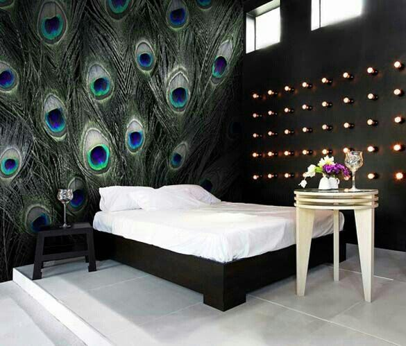 17 Best Ideas About Peacock Room On Pinterest