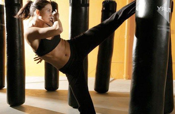 kickboxing training Fat Doesn't Stand a Chance!