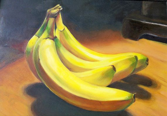 Hey, I found this really awesome Etsy listing at https://www.etsy.com/listing/82226491/fine-art-oil-painting-aceo-print-bananas