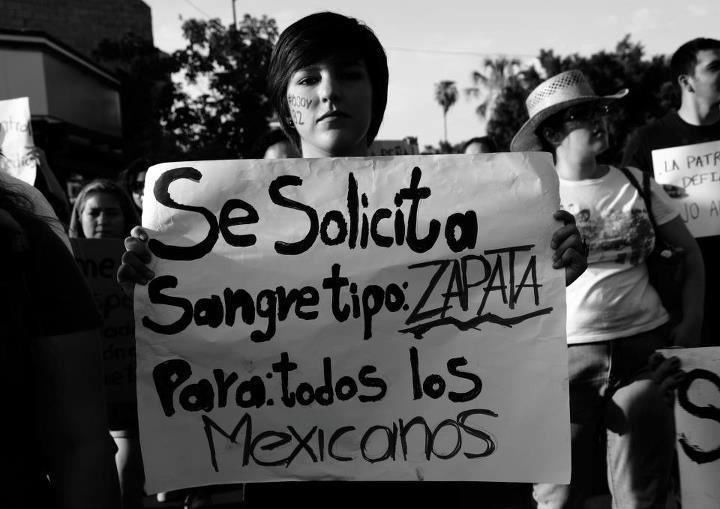 sangre de zapata  Zapata's Blood for all