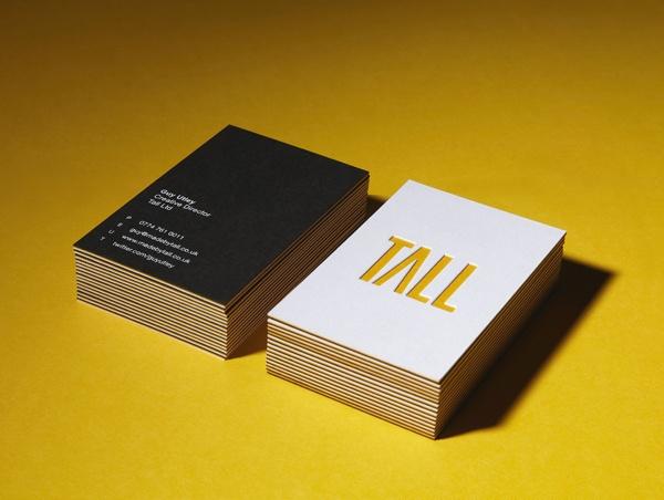 Tall Ltd - Business cards - Tall Ltd - Taking brands online