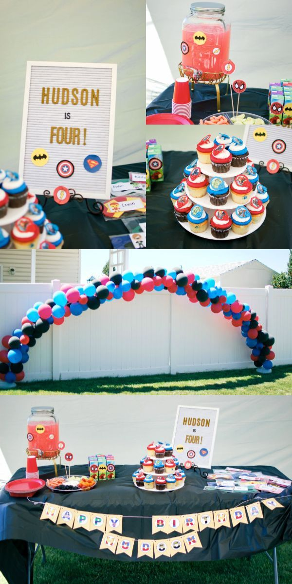 Looking For Superhero Birthday Party Ideas Games And Decorations Boys Click To See The Easiest Food Cake Invitations