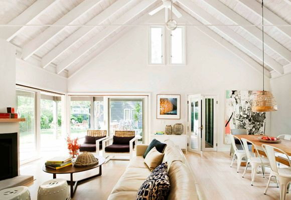 Two cottages became one dream holiday home with the repurposing of a landmark property in the NSW hamlet of Pearl Beach.