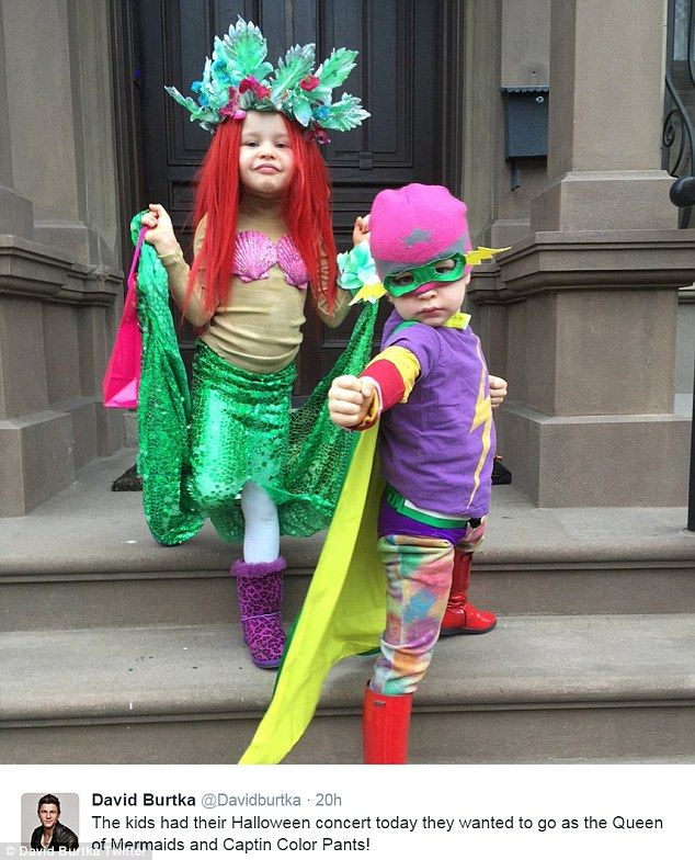 Strike a pose! Neil Patrick Harris and David Burtka's adorable twins Gideon and Harper managed to out-cute themselves as they showed off their Halloween costumes on Wednesday