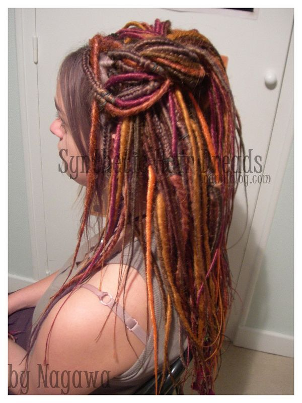 partial yarn dreads - Google Search