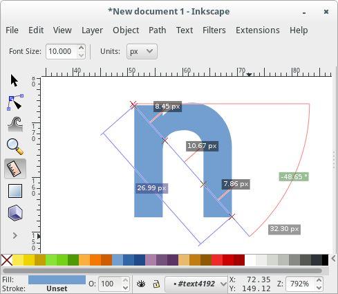 9 best art tutorials inkscape images on pinterest art tutorials inkscape 091 feature measurement tool ccuart Choice Image