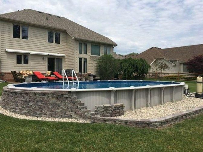 Consider This Important Photo In Order To Look Over Today Guidance On Dyi Landscaping Ideas Inground Pool Landscaping Pool Landscaping Backyard Pool