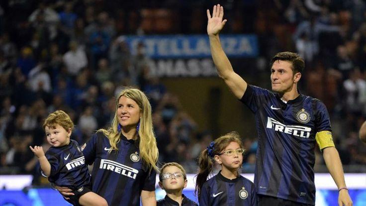 Javier Zanetti & Family - Inter Milan