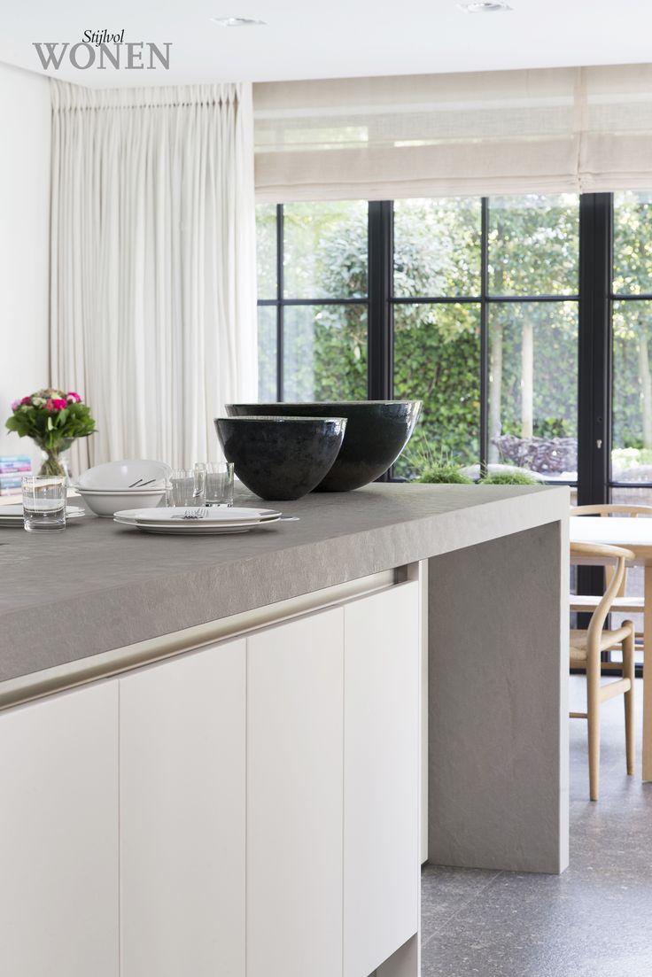 Stijlvol Wonen: het magazine voor warm-hedendaags wonen - ontwerp: Christophe Colpaert - Keuken