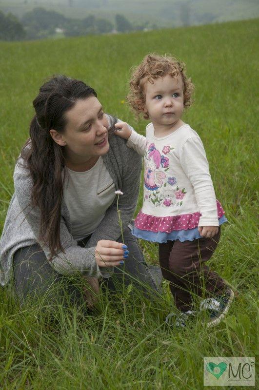 Vyvyen Salmon and their Daughter Emma <3 cute little bundle