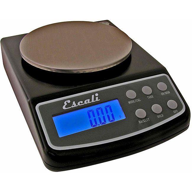 escali lseries l125 digital scale 125 gram black