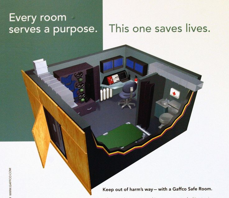 110 best panic room images on pinterest secret doors for Panic room plans