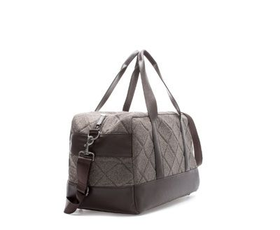 Image 2 of QUILTED BOWLING BAG from Zara