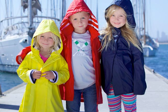 When it rains, it pours! But that doesn't mean you have to stay indoors. Here are 16 cute and colourful kids' raincoats to get you out and about in any weather.