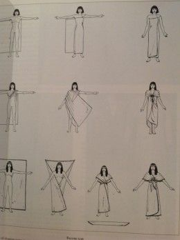 Ancient Egyptian Costume - Traditional Women and Men Attire