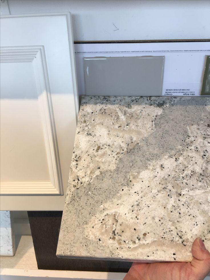 Cambria Summer Hill quartz kitchen  island countertops