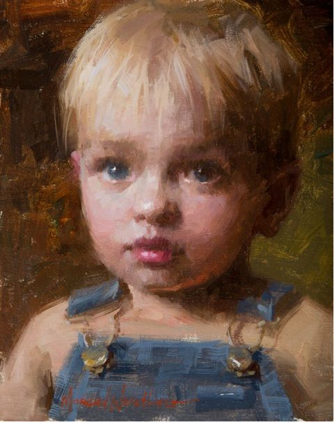Original Painting, Colin  by Morgan Weistling