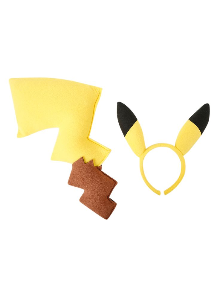 25 unique pikachu tail ideas on pinterest nine tails pokemon pokemon pikachu tail ears costume kit pronofoot35fo Gallery