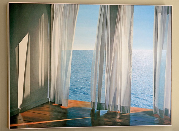 Curtains Billowing In An Ocean Breeze Dream List